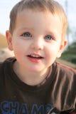 03 mały chłopiec portret Obrazy Stock