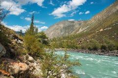03 niebezpieczną rzeką Zdjęcia Royalty Free