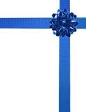 03 niebieskie wstążki Fotografia Royalty Free