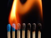 03 ogień Obrazy Royalty Free