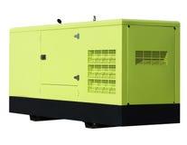 03 oleju napędowy generator Fotografia Royalty Free