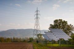 03 photovoltaïques Photo libre de droits