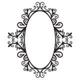 03 ramowy ornament Zdjęcie Stock