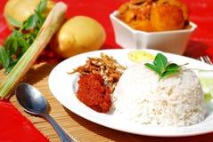 03 séries asiatiques de cuisine Image libre de droits