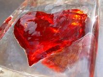 03 serc lodowa perspektywa Fotografia Royalty Free