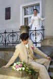 03 som gifta sig Royaltyfri Bild