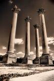 03 starożytnej ruin Obrazy Royalty Free