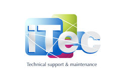 03_Technology Logo 0025. Logo Design for Pc Technical and support, Technology field used vector illustration