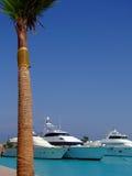 03 yachts de luxe Photographie stock libre de droits