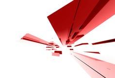 030 abstrakcjonistycznych elementów szklanych Zdjęcia Stock