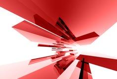 033 elementy abstrakcjonistycznego szklane Zdjęcia Stock