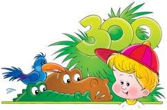 036 behandla som ett barn Stock Illustrationer