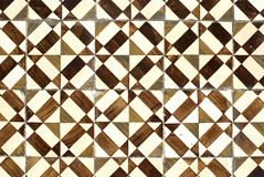 038 glasade portugisiska tegelplattor Royaltyfria Bilder