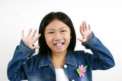 04个亚洲人儿童年轻人 免版税库存照片
