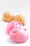 04个小圆面包cutie系列 库存图片