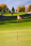 04个标志高尔夫球 免版税库存照片