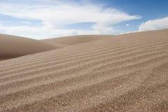 04个沙丘极大的国家公园蜜饯沙子 图库摄影