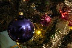 04个球圣诞节 免版税库存照片