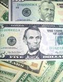 04个票据美元 免版税库存照片
