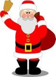 04克劳斯・圣诞老人 免版税库存照片
