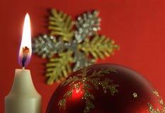 04圣诞前夕新的精神年 免版税库存图片