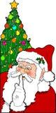 04圣诞老人 库存图片