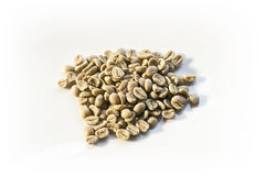 04粒豆咖啡 库存图片