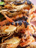 04食物虾 免版税库存图片