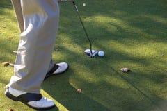 04高尔夫球射击 库存照片