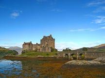 04 écossais des montagnes de château Image libre de droits