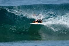 04 βαρέλι surfer Στοκ Εικόνα
