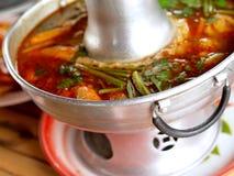 04 εύγευστα τρόφιμα Ταϊλαν&delta Στοκ Εικόνα