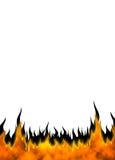 04 φλόγες πυρκαγιάς ελεύθερη απεικόνιση δικαιώματος