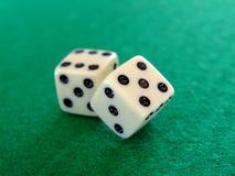 04 плашки играя в азартные игры Стоковые Изображения