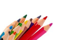 04 рисуя multicolor серии карандаша Стоковое Изображение