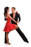 04 танцора бального зала латинского Стоковое Изображение