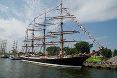 04 07 2009 chemins de Gdynia Pologne expédient grand Photos libres de droits