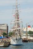 04 07 2009 chemins de Gdynia Pologne expédient grand Images libres de droits