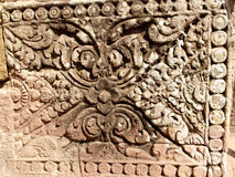 04 angkor详细资料寺庙 免版税库存照片