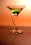 04 appletini martini Fotografering för Bildbyråer