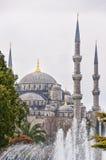 04 błękit meczet Obraz Stock