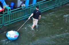 04 Bangkok łódkowaty Listopad mały Thailand Zdjęcia Royalty Free