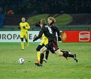 04 Bayer fc Kharkiv Leverkusen metalist Zdjęcie Stock