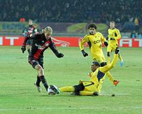 04 Bayer fc Kharkiv Leverkusen metalist Zdjęcia Royalty Free