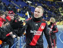 04 Bayer fc Kharkiv Leverkusen metalist Obraz Royalty Free