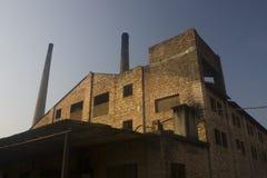 04 cegieł fabryki Fotografia Royalty Free