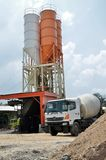 04 cementowego silosu ciężarówka Zdjęcie Royalty Free
