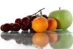 04 fruits Photographie stock libre de droits