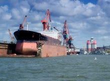 04 Gothenburgu drydock Obraz Royalty Free