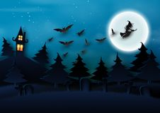 Free 04. Halloween Background Concept Paper Art Style Royalty Free Stock Photos - 125296468